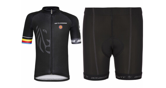 Bioracer Van Vlaanderen Pro Race Set Kids black